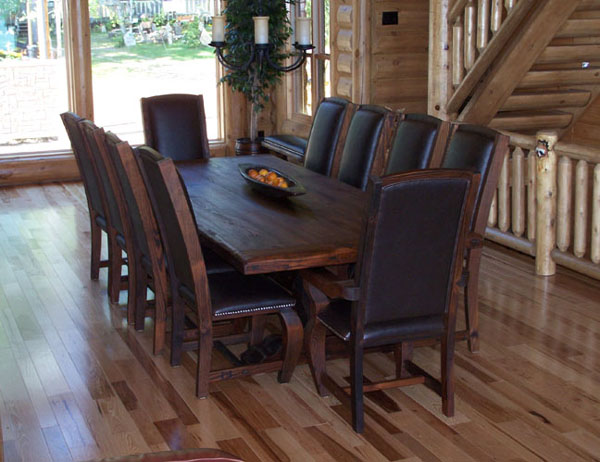 Attractive Leather And Wood Dining Chairs Kitchen Dark Wood Dining Chairs With Dark Leather Seat Dark Wood