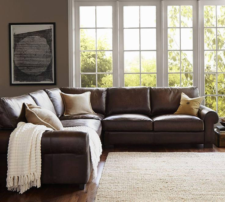 Attractive Leather Living Room Sectionals Best 25 Leather Sectionals Ideas On Pinterest Leather Sectional