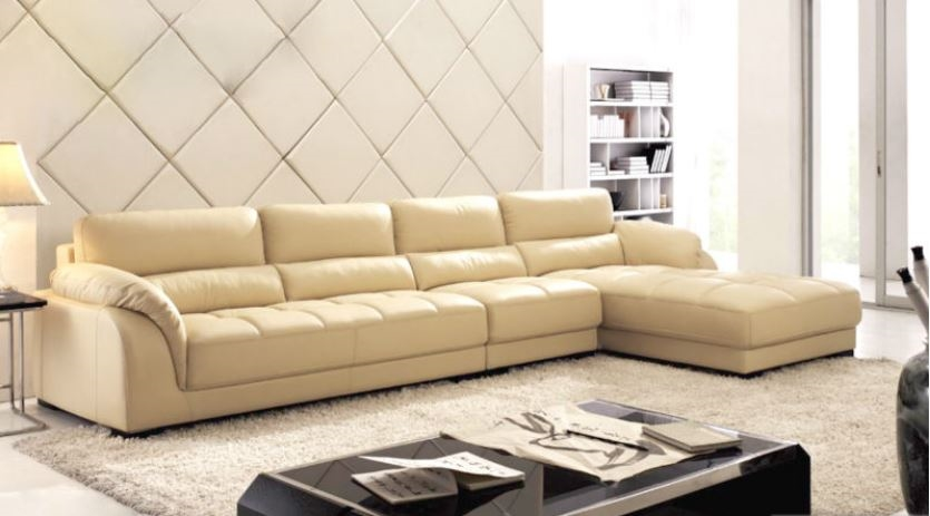 Attractive Leather Sectional Couch With Chaise Sectional Sofa With Chaise Leather Sectional L Shaped