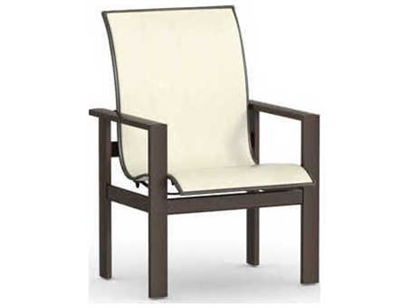Attractive Low Back Dining Chairs Homecrest Elements Aluminum Low Back Dining Chair 51370