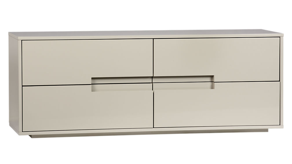 Attractive Low Dressers And Chest Of Drawers Latitude Oat Low Dresser With Drawers Cb2