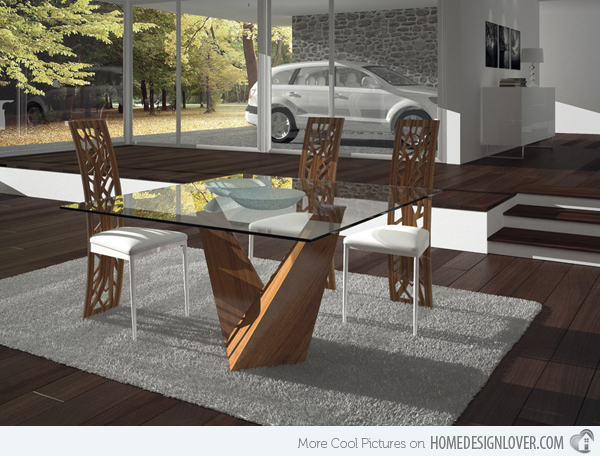 Attractive Modern Square Dining Table Modern Square Dining Table Freedom To