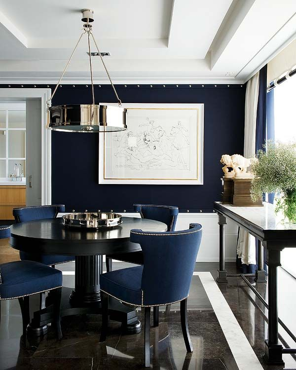 Attractive Navy And White Dining Chairs Best 25 Navy Dining Rooms Ideas On Pinterest Navy Blue Dining