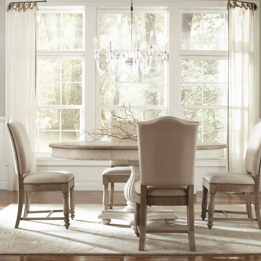 Attractive Off White Wood Dining Chairs Delightful Design Off White Dining Room Set Fancy Inspiration