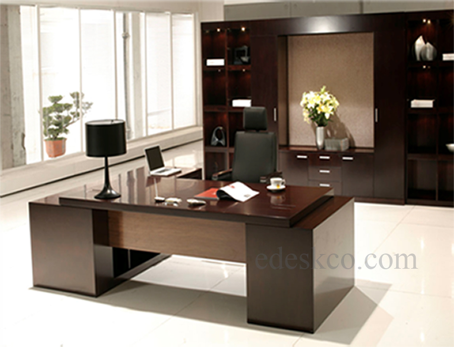 Attractive Office Desk And Cabinets Executive Office Furniture And Desk Edeskco Part 33 Corporate