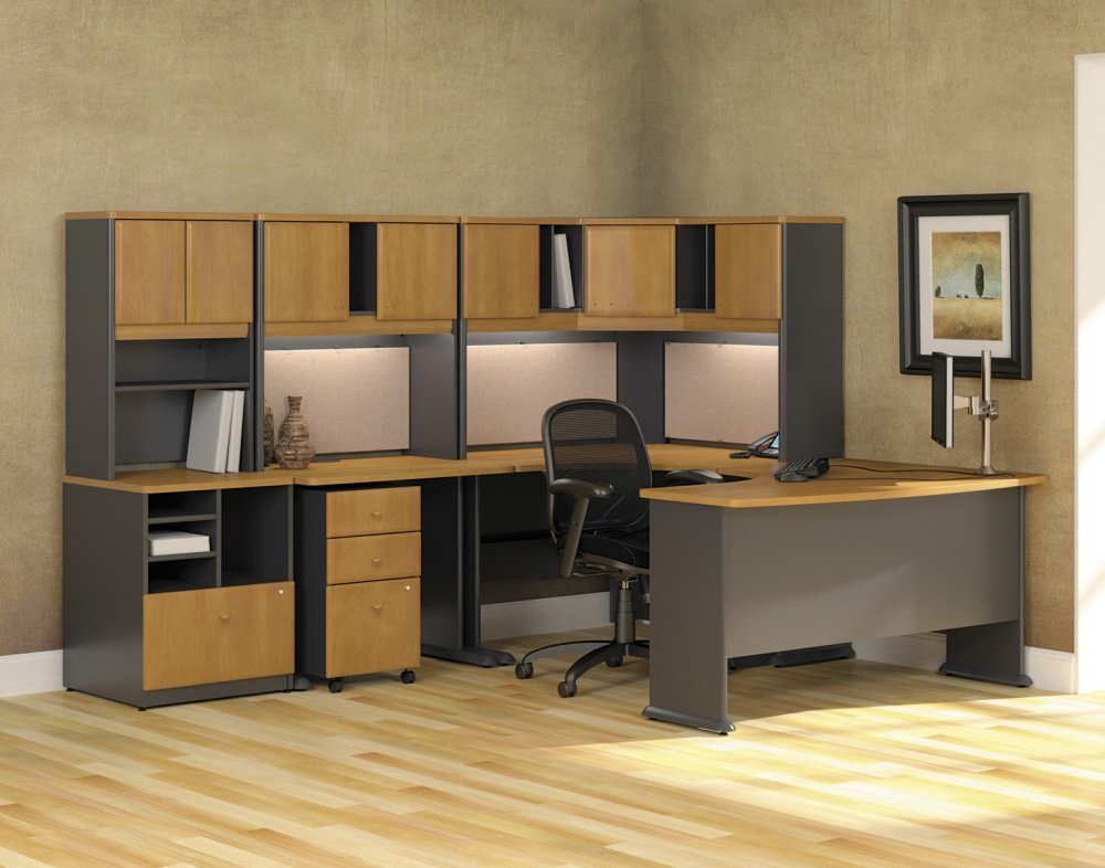 Attractive Office Desk And Cabinets Extraordinary Home Office Desk Furniture Design Ideas Of Home