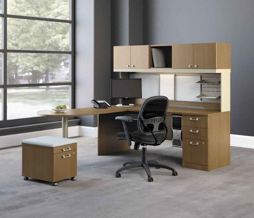 Attractive Office Table With File Cabinet Working Finely With Ikea File Cabinet Designoursign
