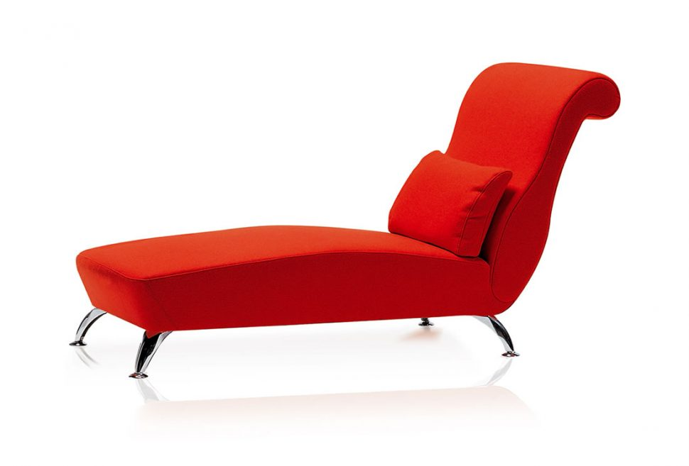Attractive Orange Chaise Lounge Indoor Chairs Red Indoor Chaise Lounge Chair Small Lumbar Pillow Add