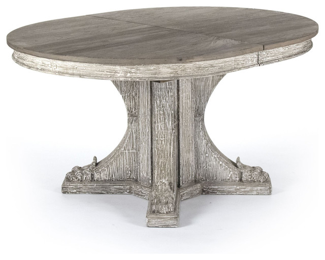 Attractive Oval Dining Table Agnes French Country Rustic Oval Extendable Dining Table