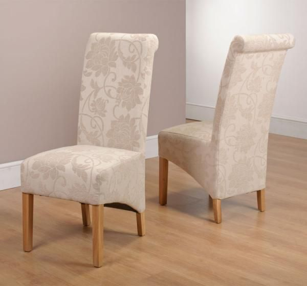 Attractive Pair Of Dining Chairs Chairs Amazing Floral Dining Chairs Floral Barrel Chair