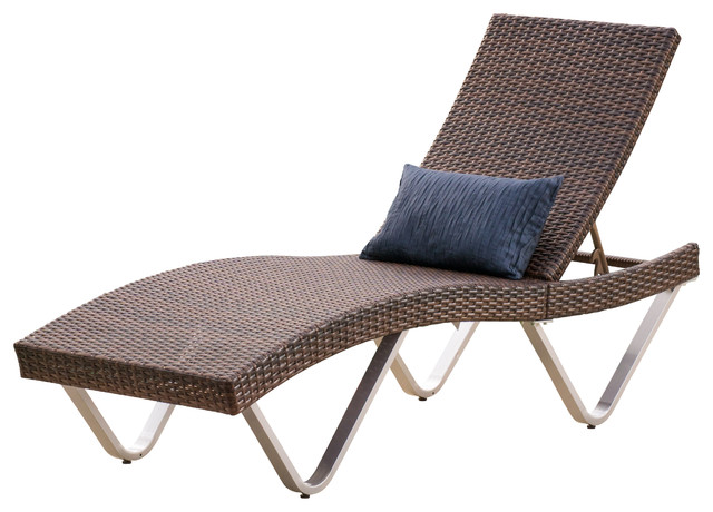 Attractive Patio Chaise Lounge Chair Manuela Outdoor Lounge Chair Contemporary Outdoor Chaise