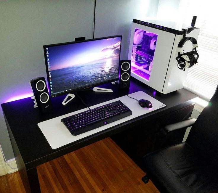 Attractive Pc Desk Setup Best 25 Computer Setup Ideas On Pinterest Gaming Computer Pc