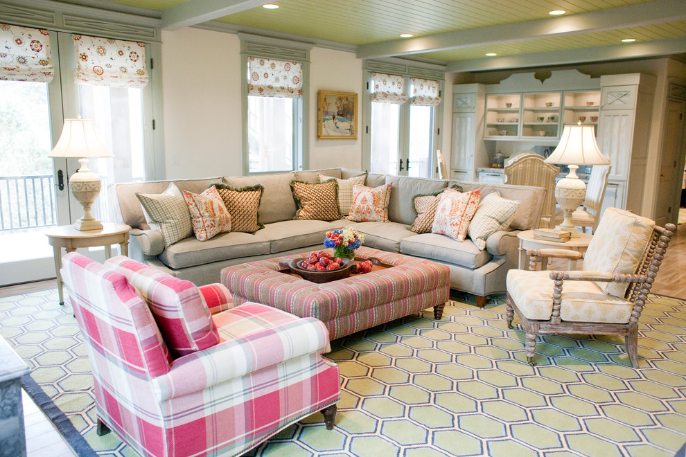 Attractive Plaid Chairs Living Room Sectional Couches Family Room Traditional With Ottoman Plaid Chair