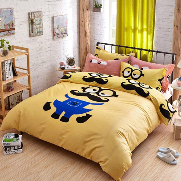 Attractive Queen Size Bed Sets Minion Queen Size Bedding Set