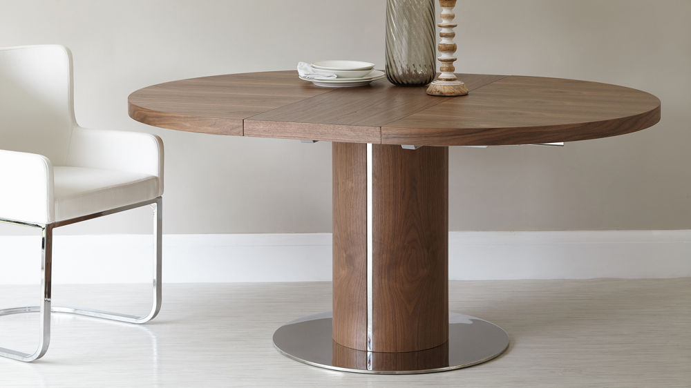 Attractive Round Extendable Dining Table Large Round Extending Dining Table Uk Starrkingschool