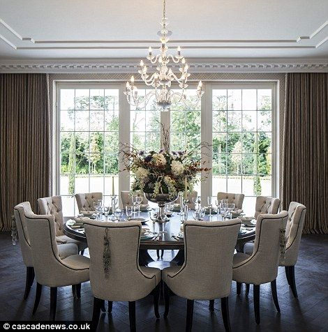 Attractive Round Table Dining Room Best 25 Formal Dining Tables Ideas On Pinterest Formal Dining