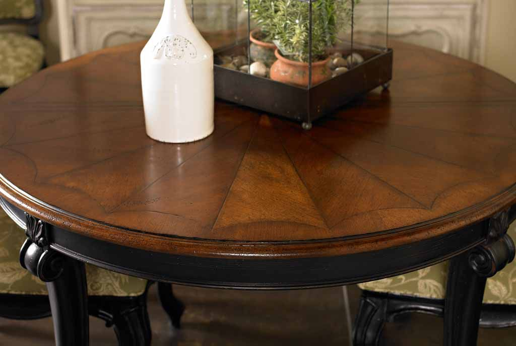 Attractive Round Table With Leaves Round Dining Table With Leaf Innards Interior