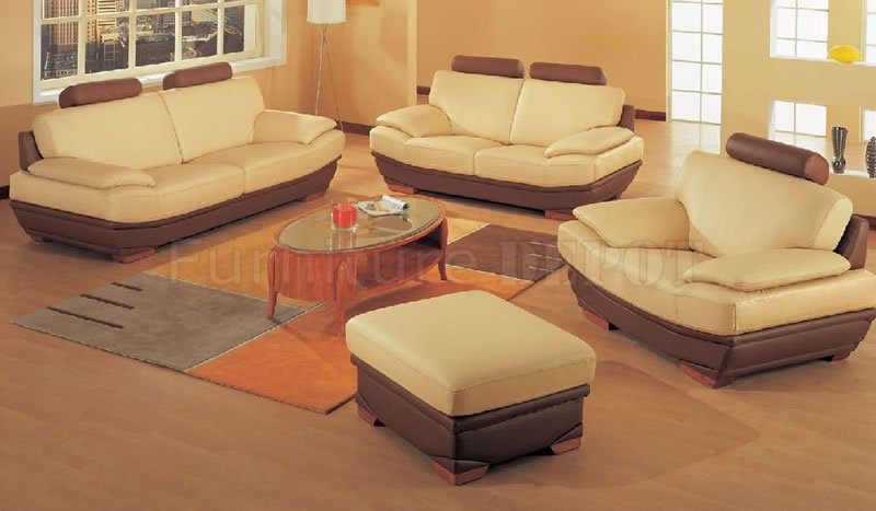 Attractive Set Of Two Living Room Chairs Best Oversized Modern Two Tone Leather Living Room Set Living
