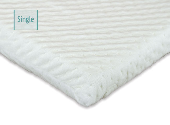 Attractive Single Bed Memory Foam Topper Mattress Toppers