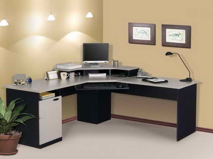 Attractive Small Black Office Desk 62 Best Office Images On Pinterest Wall Paint Colors Art