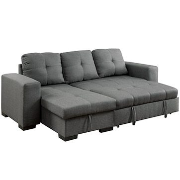 Attractive Small Sectional Sofa Bed Best Sectional Sofas For Small Spaces Overstock