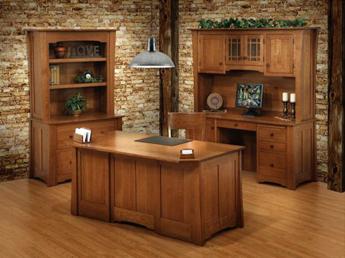 Attractive Solid Wood Office Desk Office Desk Hardwood Office Desk Handcrafted In The Solid Wood