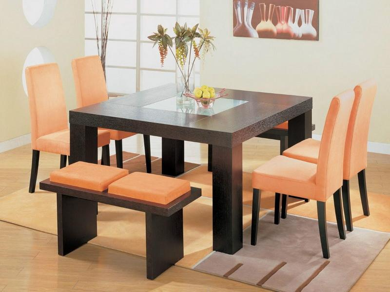 Attractive Square Dining Room Table For 4 Beautiful Square Dining Room Tables With Dining Room Kitchen The