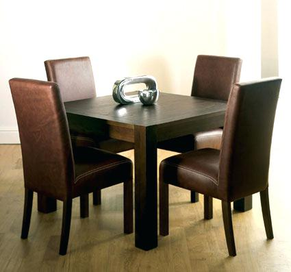 Attractive Square Dining Room Table For 4 Square Dining Room Table For 4 Zagonsco