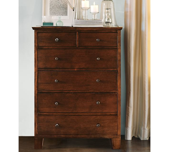 Attractive Tall Dresser Chest Of Drawers Valencia Tall Dresser Pottery Barn