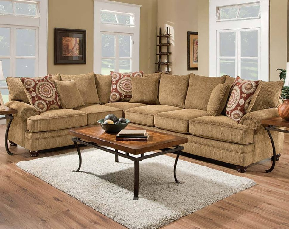 Attractive Tan Sectional With Chaise Sofa Leather Sectional Sofas Big Sectional Couch Small Sectional