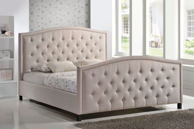 Attractive Tufted Headboard Bed Frame Magnificent Tufted Headboard And Footboard Headboard And Footboard
