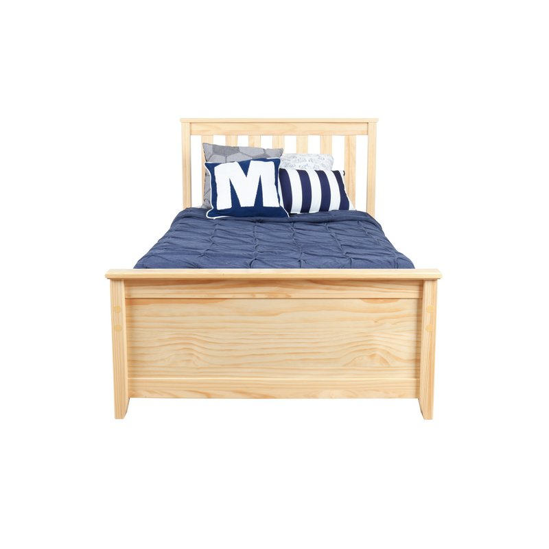 Attractive Twin Platform Bed Frame Max Lily Solid Wood Twin Platform Bed With Trundle Frame
