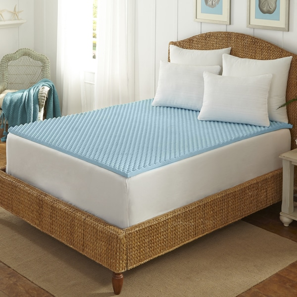 Attractive Twin Size Bed Topper Arctic Sleep Cool Blue 15 Inch Memory Foam Twin Size Mattress