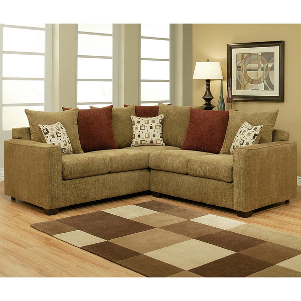 Attractive Two Piece Sofa Set Alluring Two Piece Sectional Sofa With Sectional Sofa Pieces