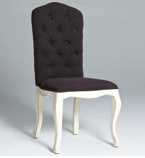 Attractive Upholstered Dining Chairs With Black Legs Tufted Dining Chair Black With White Legs Linen Dining Chair
