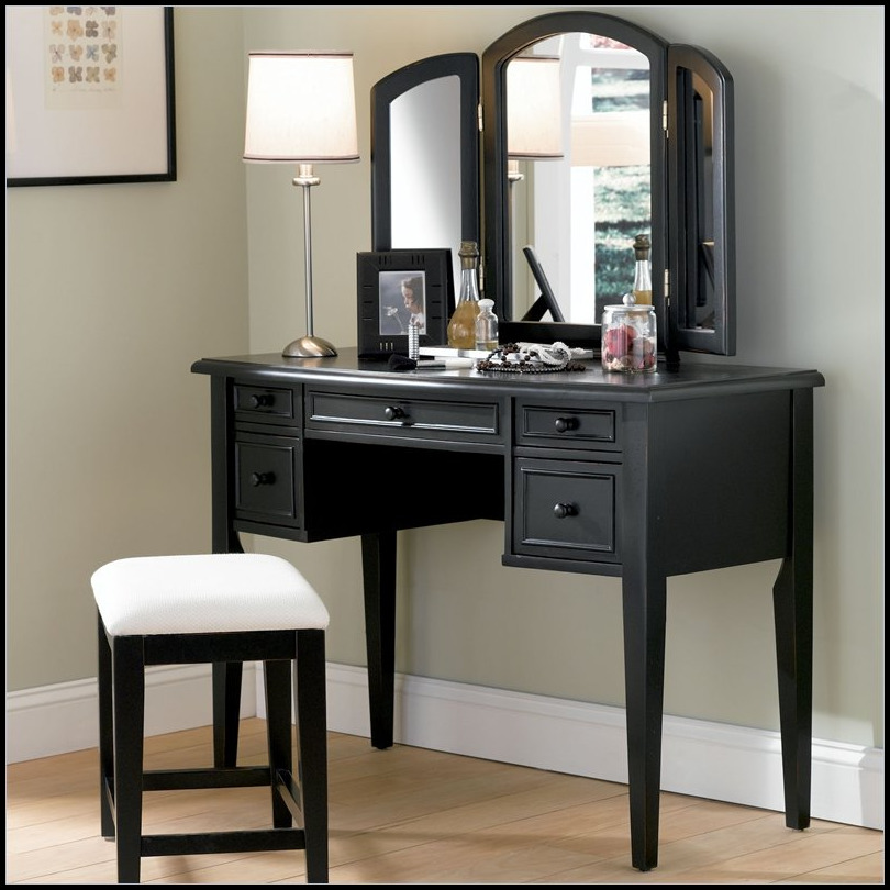 Attractive Vanity Sets With Mirror And Bench Inspiring Makeup Vanity Table With Mirror And Bench Photos Best