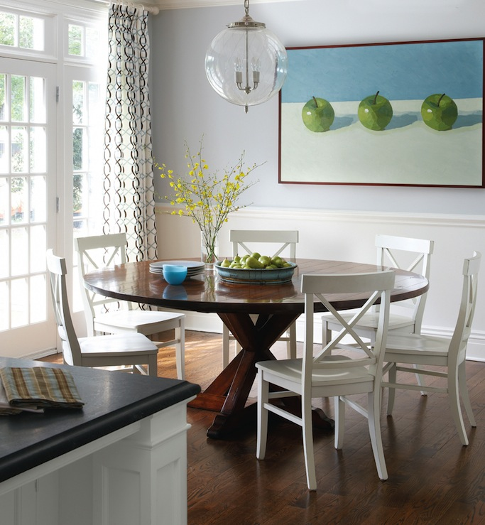 Attractive White And Brown Dining Chairs Round Back Dining Chairs Design Ideas