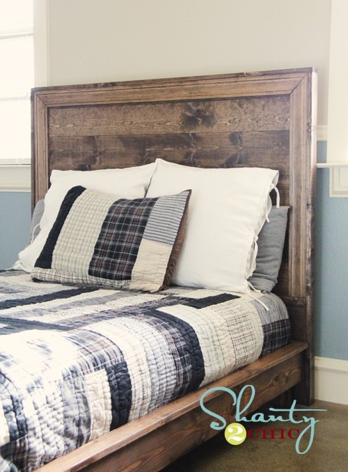 Attractive White Backboard For Bed Diy Backboard Bed Headboard Ideas For Queen Size Beds Howcast The