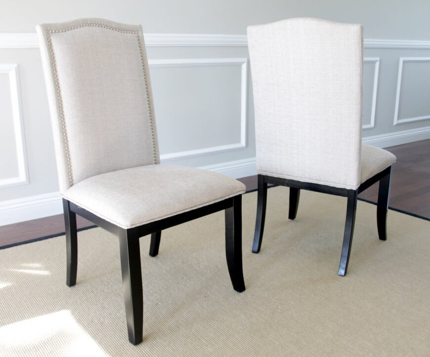Attractive White Cushioned Dining Chairs 19 Types Of Dining Room Chairs Crucial Buying Guide