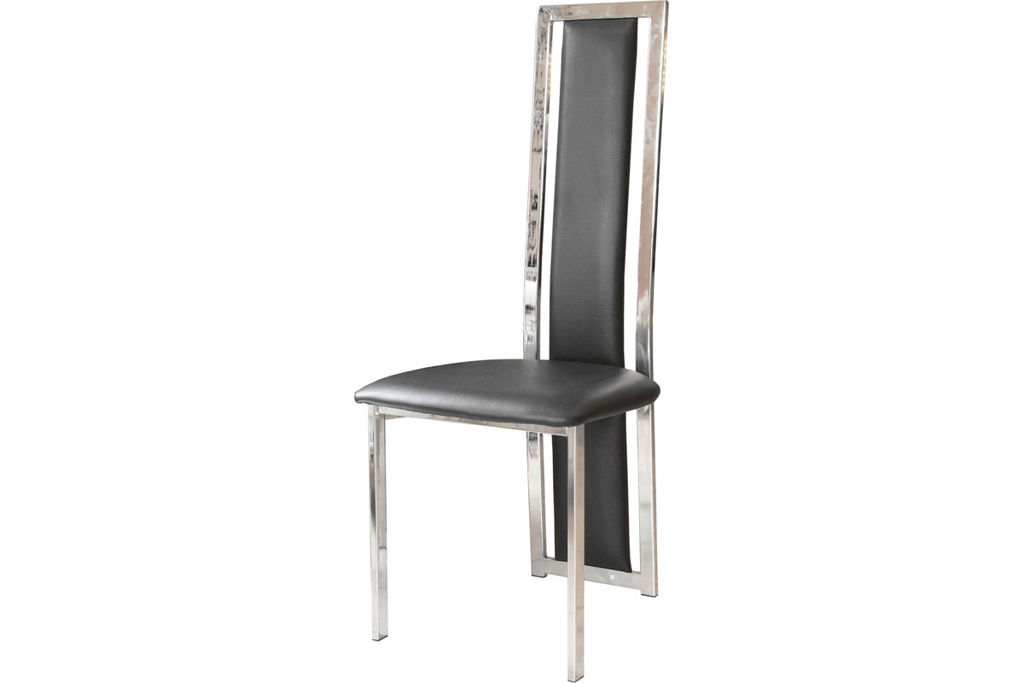 Attractive White Leather High Back Dining Chairs Dining Room Stunning White High Back Upholstered Dining Chair