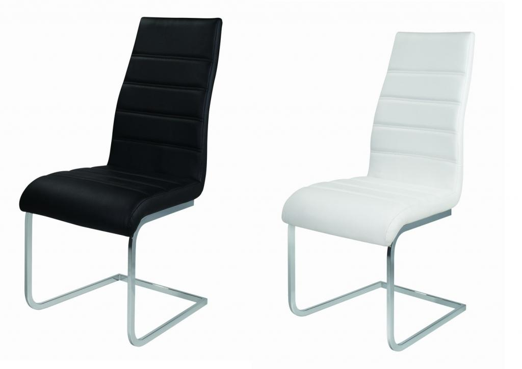 Attractive White Leather High Back Dining Chairs Various Styles Of High Back Dining Room Chairs Dining Chairs