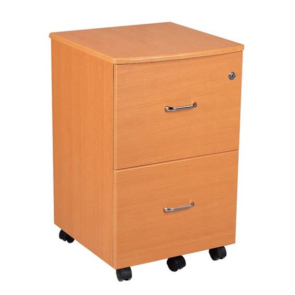 Attractive Wood 2 Drawer File Cabinet On Wheels Brilliant File Drawers On Wheels Wood 2 Drawer File Cabinet With