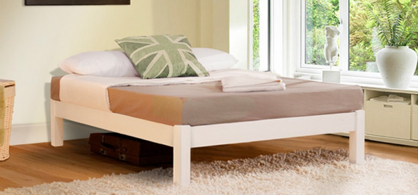 Attractive Wooden Bed Frame Without Headboard Wood Bed Frame Without Headboard 21011