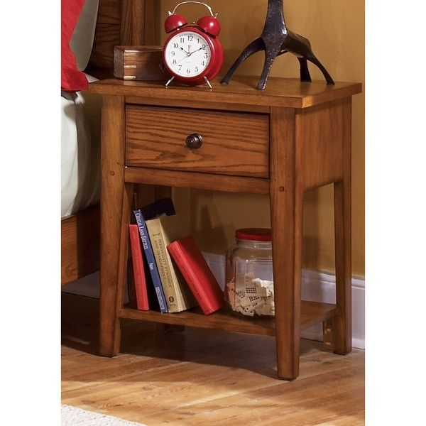 Awesome 18 Inch Bedside Table 16 Inch Wide Nightstand Nightstands And Bedside Tables Houzz