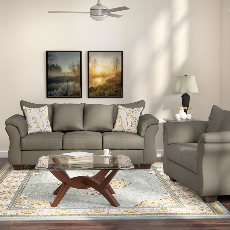 Awesome 2 Piece Living Room Furniture Andover Mills Chisolm 2 Piece Living Room Set Reviews Wayfair