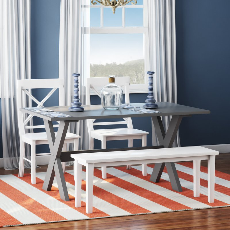 Awesome 4 Piece Dining Table Beachcrest Home Medulla 4 Piece Dining Set Reviews Wayfair
