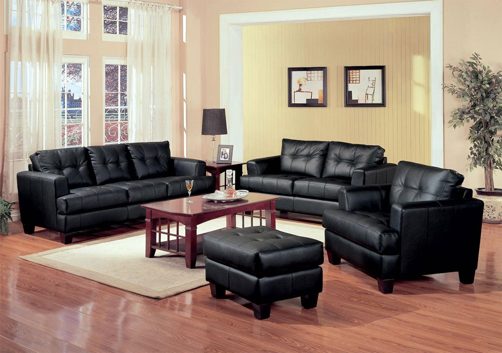 Awesome Ashley Furniture Black Leather Couch Living Room Surprising Black Leather Living Room Set Sale Italian