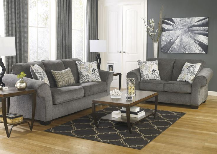 Elegant Ashley Furniture Chenille Sofa The Navasota Sofa From Ashley
