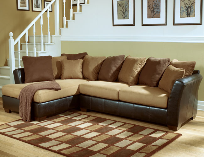 Awesome Ashley Furniture Microfiber Sectional Phoenixs Discount Ashley Furniture Superstore