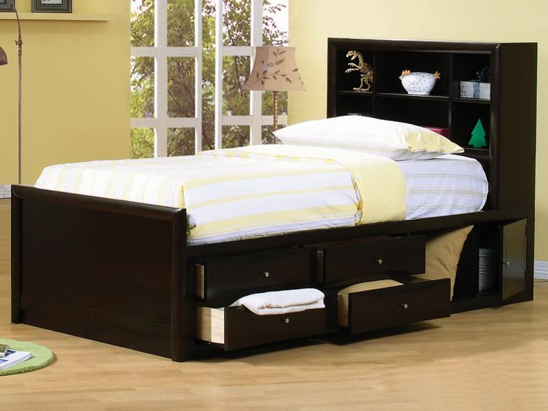 Awesome Bed And Mattress Set Full Size Bed With Storage Drawers And Headboard Modern Storage